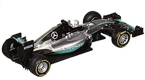 : Bburago Mercedes AMG Petronas F1 W07#44 Hybrid Lewis Hamilton F1 Formula 1 Car 1/43 Diecast Model Car by 38026LH