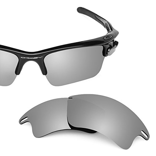 Revant Polarized Replacement Lenses for Oakley Fast Jacket XL Titanium MirrorShield by Revant