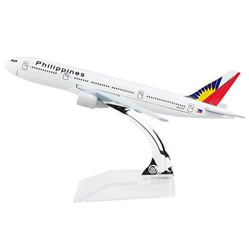 24 Hours Philippine Airlines Boeing 777 Metal Airplane Models
