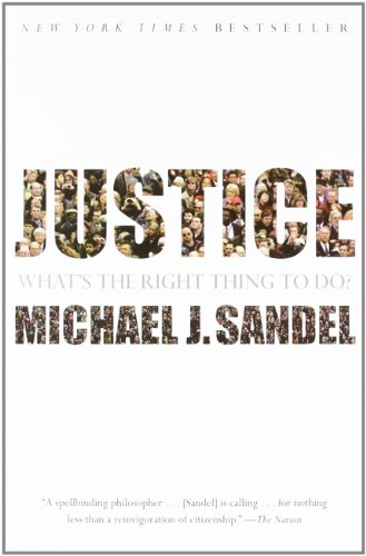 Justice: What's the Right Thing to Do? cover
