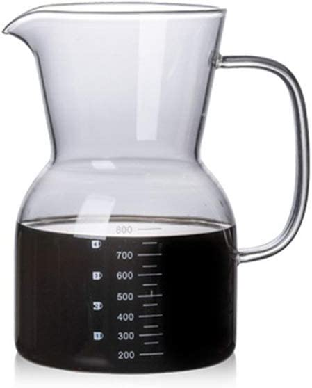 Jarra de cristal de borosilicato para cafetera con filtro de café ...