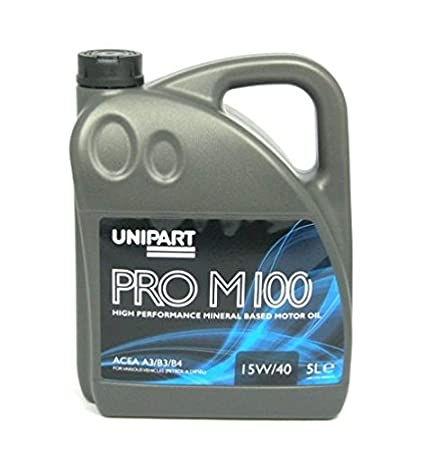 Unipart – 15 W/40 Aceite mineral para motor (PROM100): Amazon.es ...