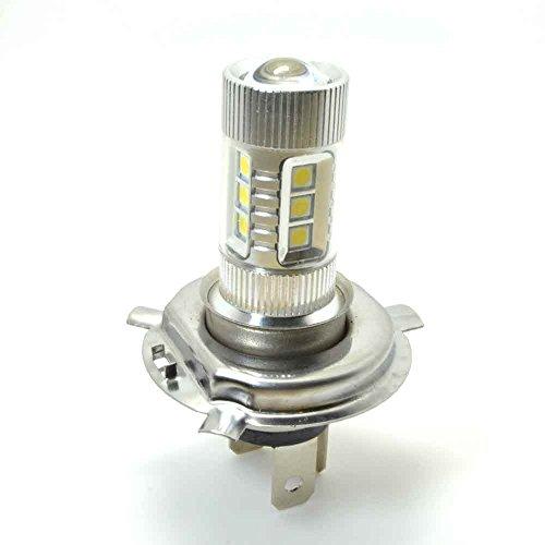 LUMAND(TM) Xenon White 80W Samsung H4 Hi Lo LED Fog Light Bulb for Car Driving Light Lamp Pack of 2