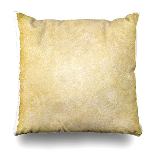 LALILO Throw Pillow Covers, Vellum Papyrus Parchment Double-Sided Pattern Sofa Cushion Cover Couch Decoration Home Gift Bed Pillowcase 18x18 inch ()