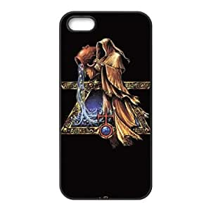 iPhone 5 5s Cell Phone Case Black Aquarius by Alchemy Bbahg