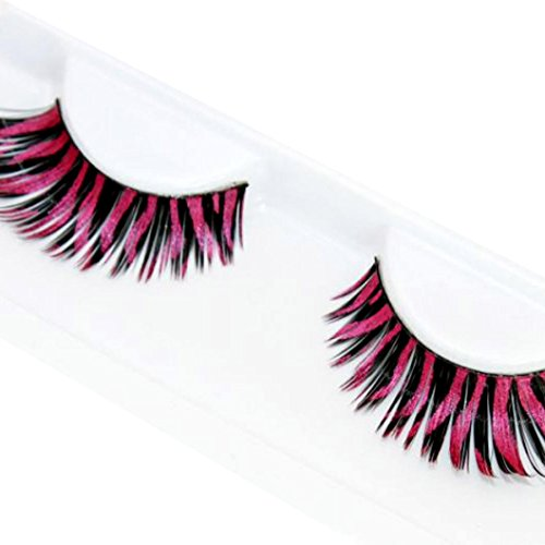 DEESEE(TM) Women Halloween Stage Party Makeup Small Dots False Eyelashes