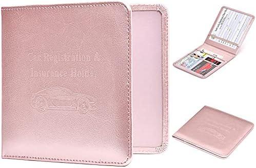 HERRIAT Car Registration and Insurance Card Holder...