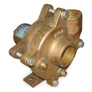 (Dayton 2ZWY5 Pedestal Pump, Centrifugal, HP Req. 1 1/2)