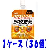 Meiji Perfect plus immediate healthy jelly 180g pouch 36 pieces