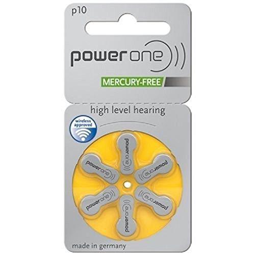 Power size Mercury Hearing Batteries