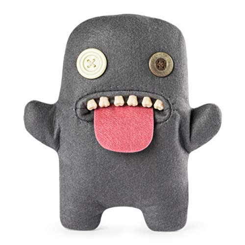 fuggler Funny Ugly Monster, 9 Oogah Boogah Plush Creature with Teeth - Grey