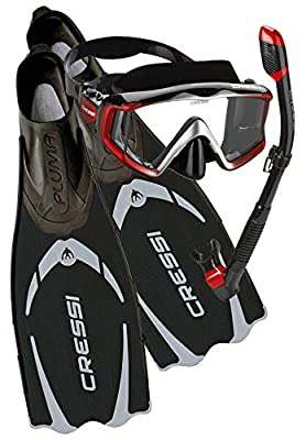 Cressi Travel-Friendly Light Snorkeling Set: designed in Italy