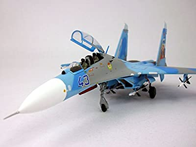 SU-27 (SU-27UB) Flanker-C Russian Air Force - With Display Stand - 1/72 Diecast Model