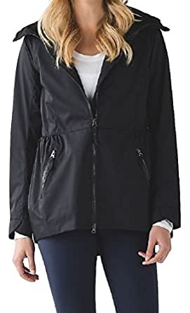 Amazon.com: Lululemon Rain For Daze Jacket (6, Black