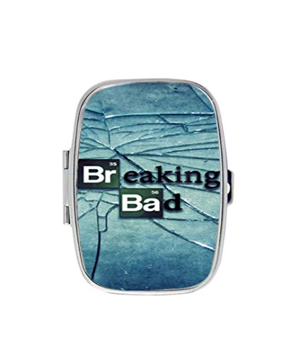 Breaking Bad Custom Diy Image Personalized pill box Stainless Steel Medicine Tablet Holder Decorative Metal - Breaking Bad Diy