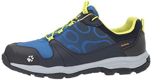 Bleu Akka Garçon Texapore Chaussures Low Wasserdicht B Blue Wolfskin vibrant De Randonnée Basses Jack Bwx4PZq5Z