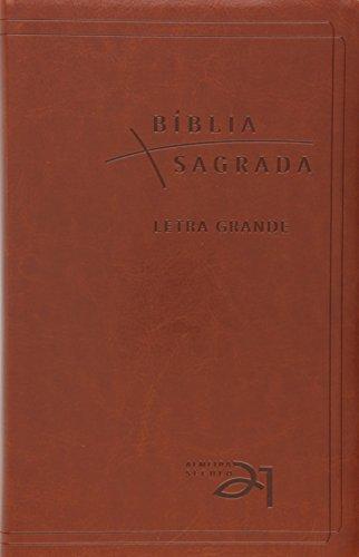 Bíblia Sagrada Almeida Século 21 - Letra Grande - Marrom
