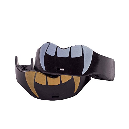 Soldier Sports Fang & Camo Mouthguard, One Size, Beast