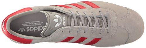 Adidas Originals Herren Gazelle Schnür-Sneaker Mgsogr / Scarle / Ftwwht
