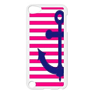 [MEIYING DIY CASE] FOR Ipod Touch 5 -Retro Vintage Anchor Pattern-IKAI0447120