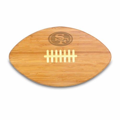 NFL San Francisco 49ers Touchdown Pro! Bamboo Cutting Board, 16-Inch