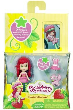 Strawberry Shortcake Hasbro Mini Doll with DVD
