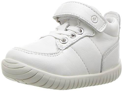 Stride Rite Baby SRTech Bailey Ankle Boot, White, 3.5 Medium US Infant ()