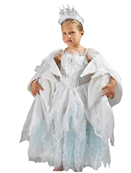 0323788c2531 NARNIA WHITE WITCH SNOW QUEEN FANCY DRESS COSTUME 5-6 YEARS: Amazon ...