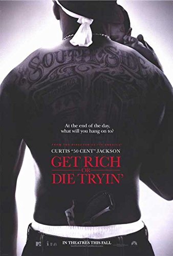 Get Rich or Die Tryin' 11 x 17 Movie Poster