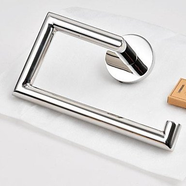Contemporary Stainless Steel Bathroom Towel Ring