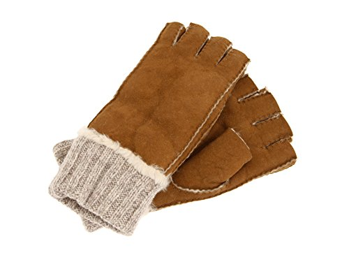 (Fownes Brothers Women's Leather Gloves (Black, Medium))