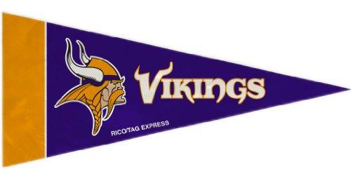 (Minnesota Vikings 8 Piece Mini Pennant Set)
