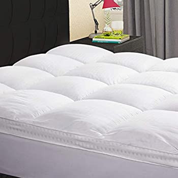 Awe Inspiring Karrism Extra Thick Mattress Topper California King Cooling Mattress Pad Cover Topper 400Tc Cotton Pillow Top 8 21Inch Deep Pocket Unemploymentrelief Wooden Chair Designs For Living Room Unemploymentrelieforg