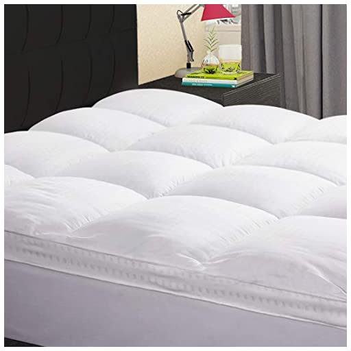 KARRISM-Extra-Thick-Mattress-TopperKing-Cooling-Mattress-Pad-Cover-Topper-400TC-Cotton-Pillow-Top-8-21Inch-Deep-Pocket