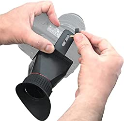 eCostConnection Elite Series 3.4x Magnification Adjustable Lock-In-Place LCD Viewfinder Fits Most 3\