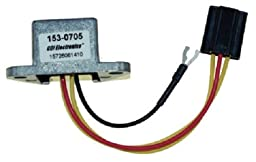 CDI Electronics - Johnson, Evinrude Rectifiers Plug-in Connector - 153-0705