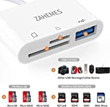 ZAHEMES USB C SD Card Reader Micro SD Card Reader