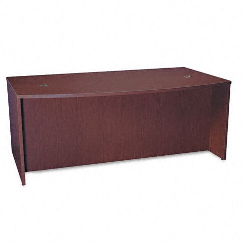 Basyx by HON BL Laminate Series Bow Front Desk Shell