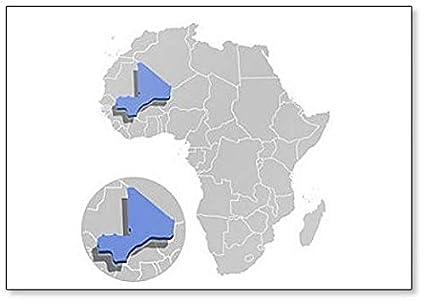 Amazon.com: Illustration of Mali on Africa Map Fridge Magnet ... on mali geography, mali flag, mali political, mali on a map, mali europe map, mali's map, burkina faso, mali map area, sierra leone, mali movement, bamako mali map, mali economic, mali gold, mali resource map, rwanda map, mali food, zimbabwe map, mali ebola, mali france map, mali currency, mali continent map, mali map in color,