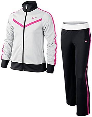 Nike T40 T Warm Up YTH - Chándal para niña, Color Blanco/Negro ...