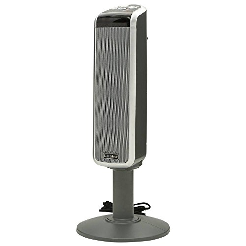 Lasko 5397 Ceramic Pedestal Heater with Remote Control Ceramic Pedestal