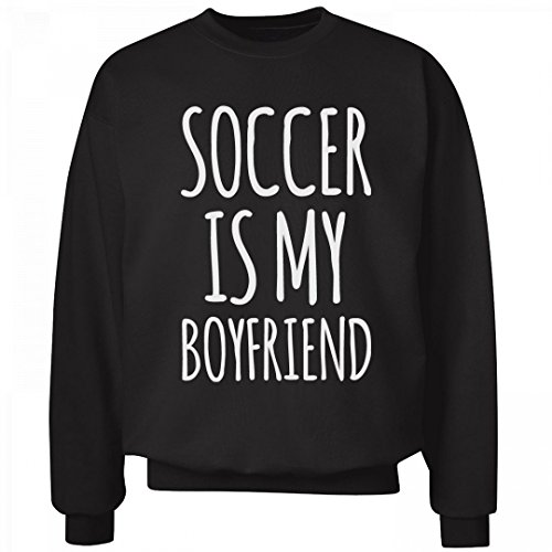 Soccer Is My Guy: Unisex Hanes Ultimate Crewneck Sweatshirt (Soccer Soccer Sweatshirt)