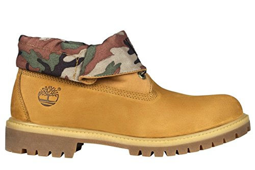 Timberland 6-inch Icon Roll-top Camo Beige Beige 45
