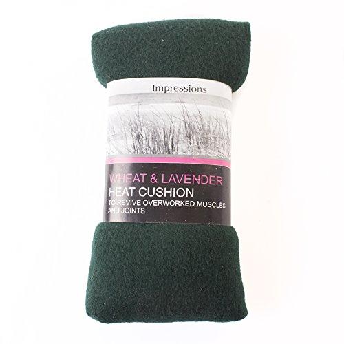 Herbal Heat Fleece Wheat Bag   Dark Green