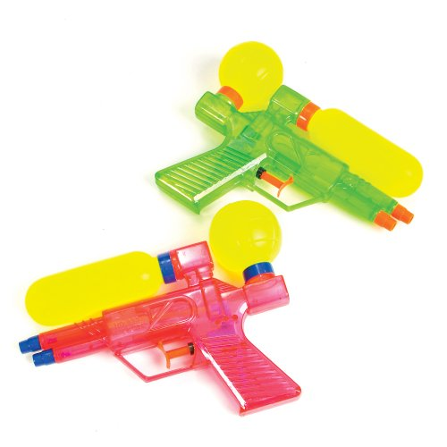 Double Barreled Water Guns (12 pc)