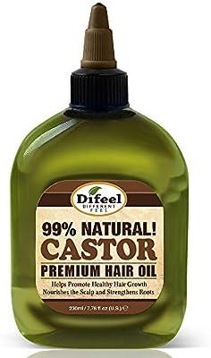 difeel Premium pelo natural - Aceite de ricino 235 ml: Amazon.es ...
