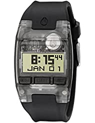 Nixon Mens A336001 Comp S Digital Display Automatic Self Wind Black Watch