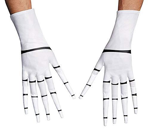 Disguise Costumes Jack Skellington Gloves,