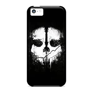 Durable Protector Cases Covers With Cod Ghosts Hot Design For Iphone 5c