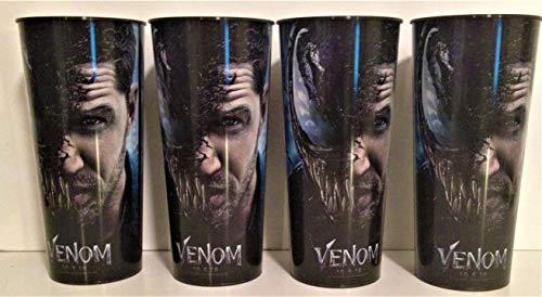 Marvel Comics: Venom Movie Theater Exclusive Four 44 oz Plastic Cups #2